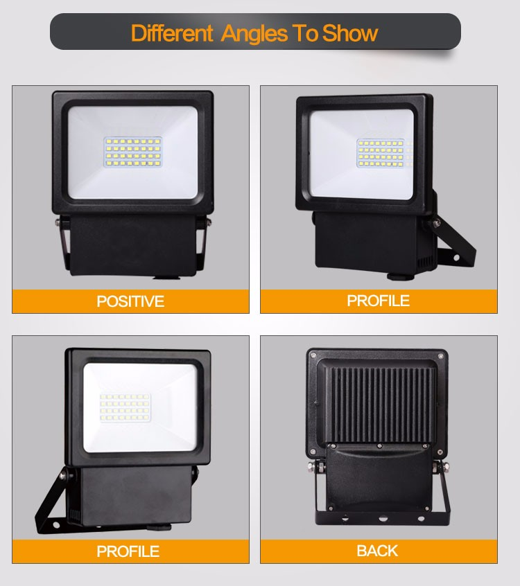 16142 Outdoor Light Led Floodlight Parts 10w 20w High Power Led ...