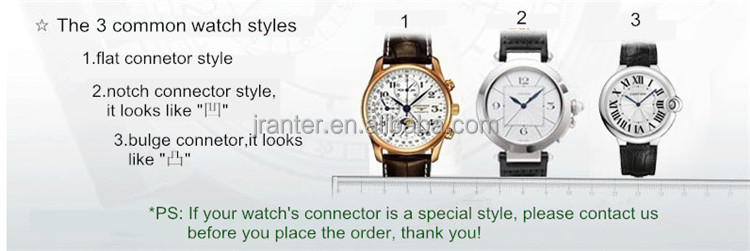 High Quality 100% Alligator Leather Watch Band