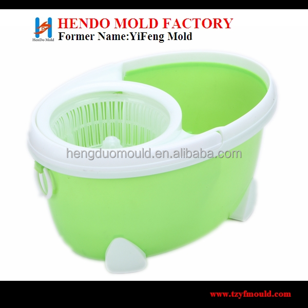 magic spin mop bucket no foot pedal mould