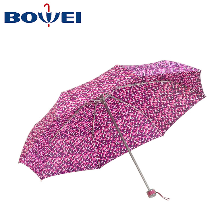 2020 China manufacturer cheap promotional foldable custom logo umbrella folding