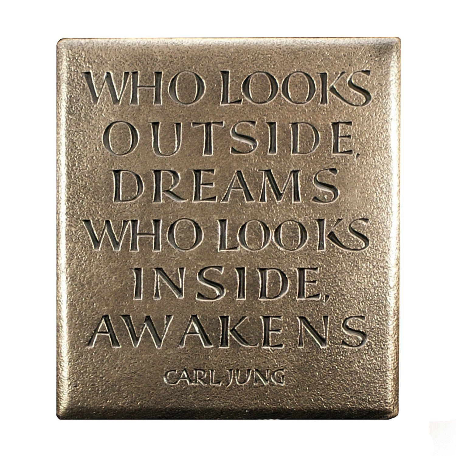 Cheap bronze plaque cemetery find bronze plaque cemetery deals on carl jung inspirational quote bronze plaque made in ireland reviewsmspy