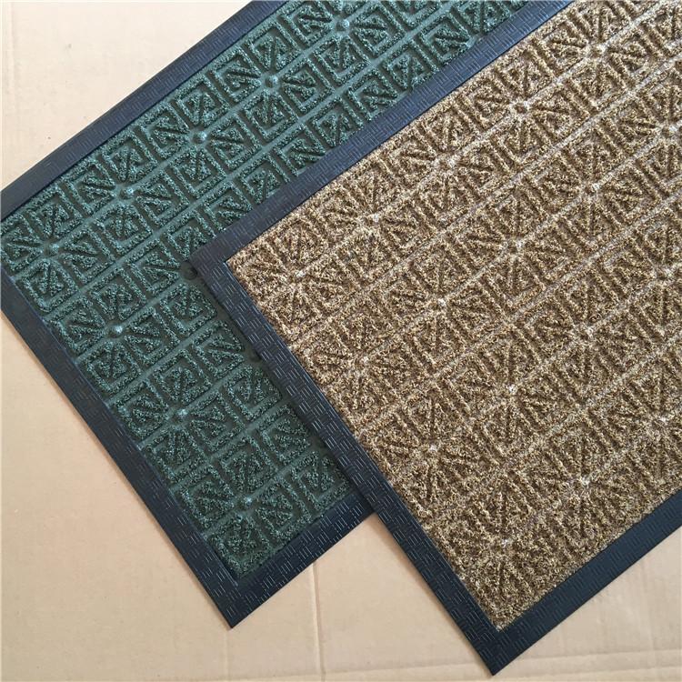 Polypropylene Gr Surface Rubber Backing Waterproof Door Mat Product On