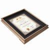 A4 Certificate Easel Back Plastic Photo Frame