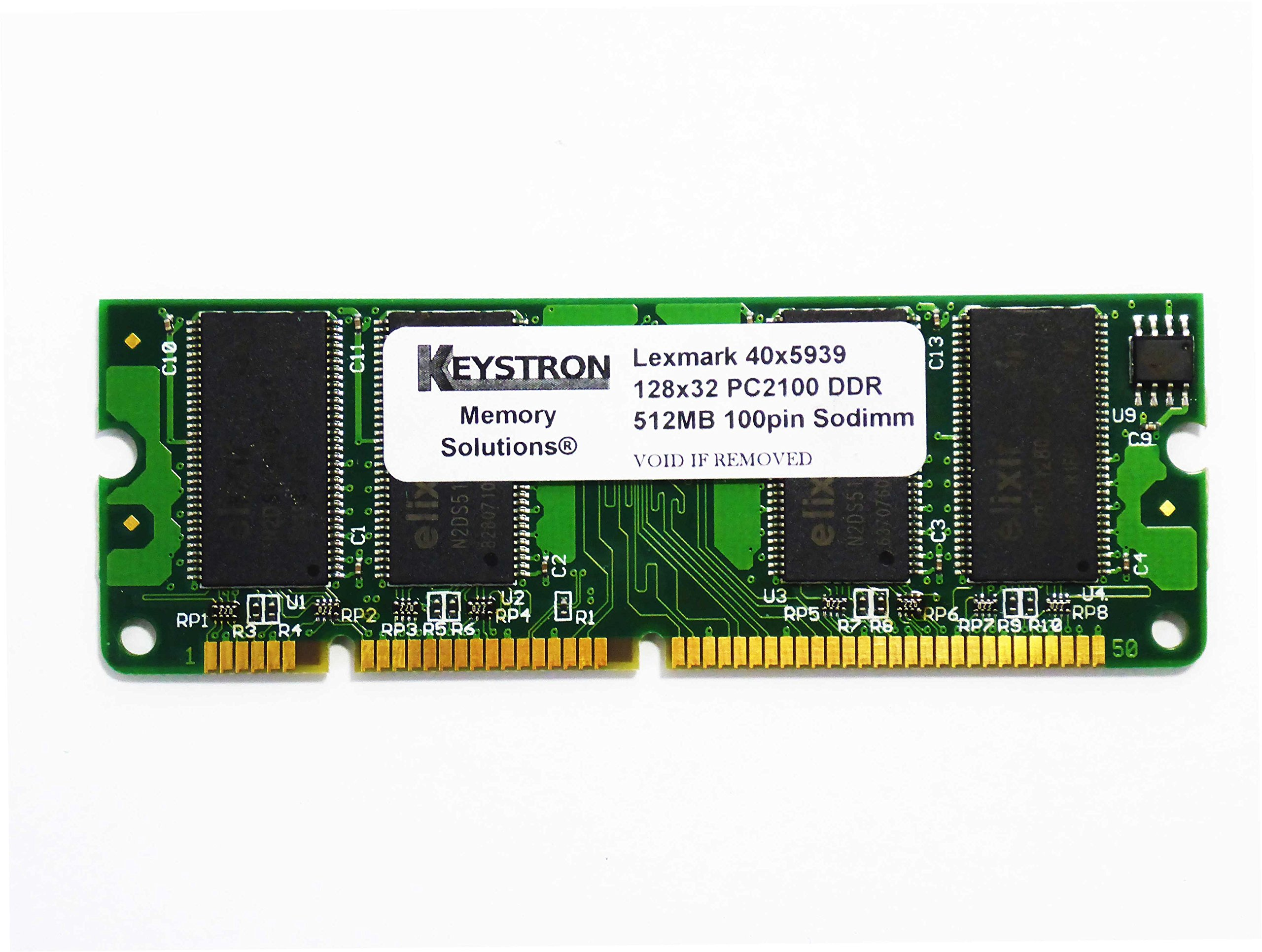 Get Quotations · 40X5939 512MB 100pin PC2100 Memory Upgrade for Lexmark  Printer T650DN, 650DTN, 650N, 652DN