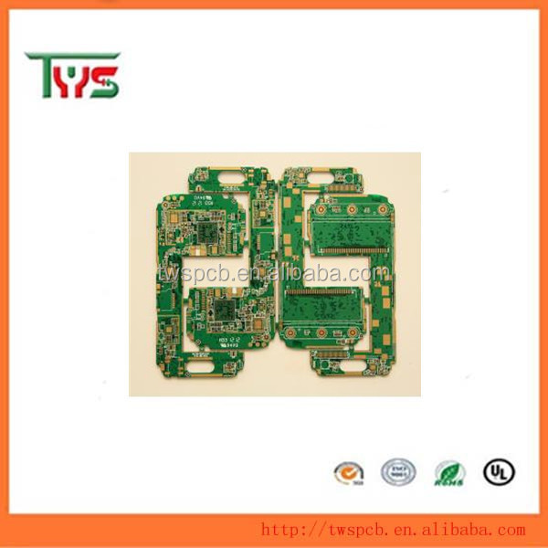 Green solder mask white silkscreen Multi-layer PCB(Printed circuit board)