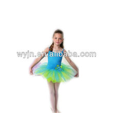 New design -- lovely contract colour dance ballet dress-for adults and children-girl's ballet dance dress-costumes-prom dress