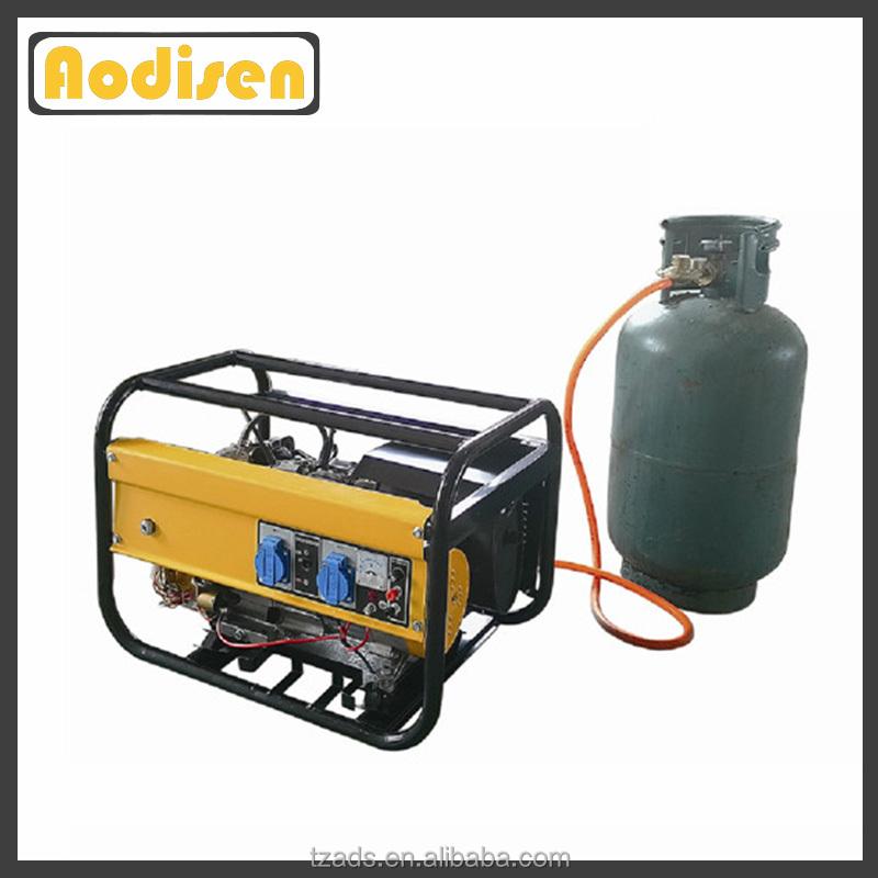 Uso en el hogar nuevo dise o barato 3kw generador de gas for Generador gasolina barato