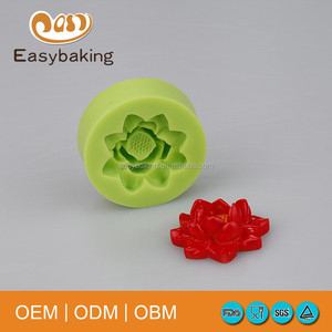 Hot Sell Fimo Flower Cake Decoration Silicone Molds For Soap Or Cookie