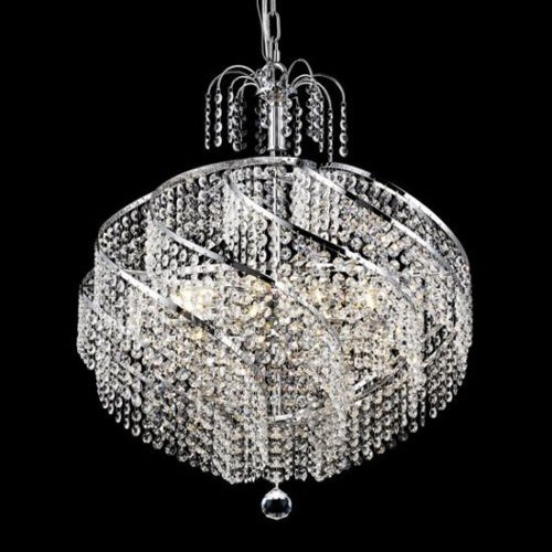 Decorative Modern Hanging Crystal Ball Chandelier Chain Pendant ...