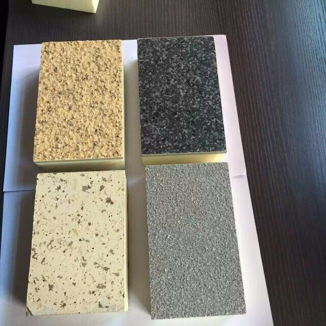 Insulation decorative board imitation stone wall panel for Rock wall insulation