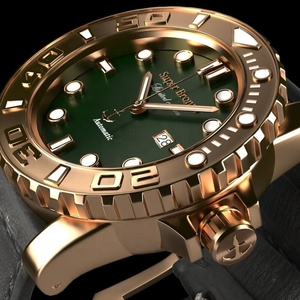 OEM Diving bronze watch with automatic mov't