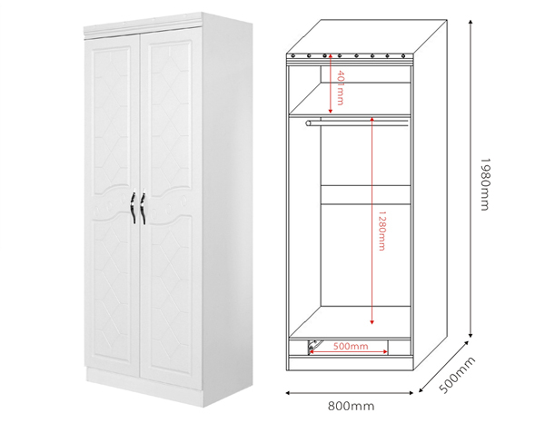 W882 51cloth Wardrobe/ Mdf Wardrobe Cabinet/ Lowes Wardrobe   Buy