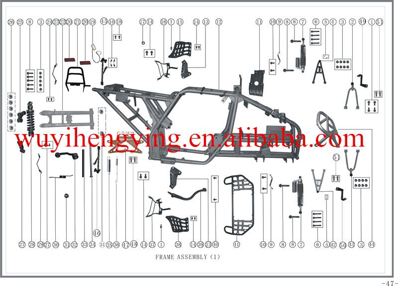 bashan atv wiring diagram roketa 90cc atv wiring diagram #7