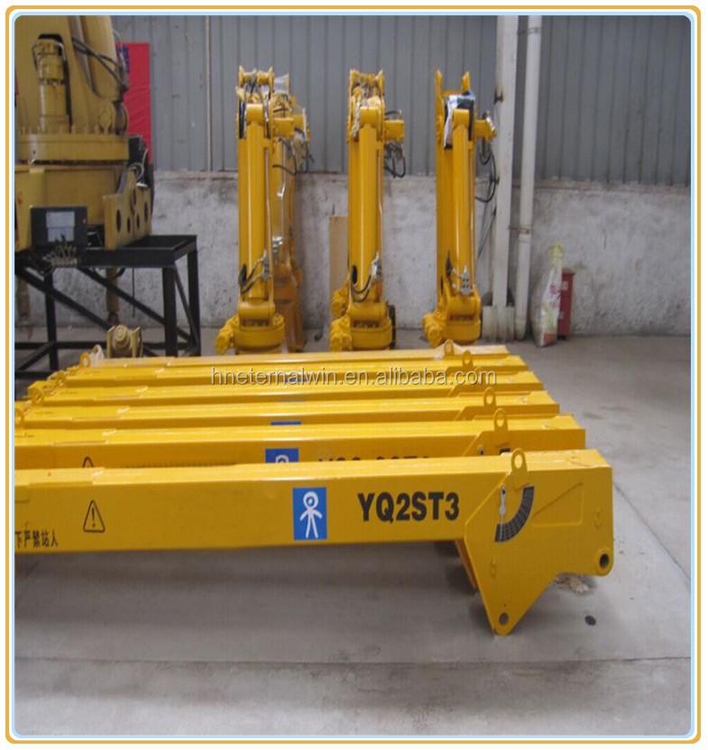 Yacht Hydraulic Crane : Hydraulic slew jib crane for port boat buy