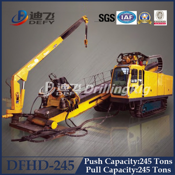 Directional Drills Dfhd-245 Trenchless Drilling Machine,Underground  Pipeline Laying Hdd Rig - Buy Horizontal Directional Drilling Rig,High  Quality