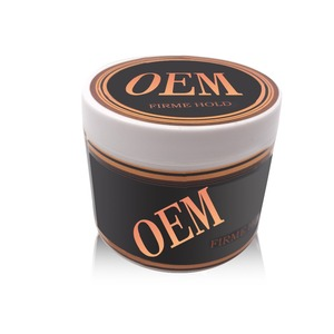 2018 hot selling customized organic OEM Korean import material private label brow men fruity strong hold hair pomade