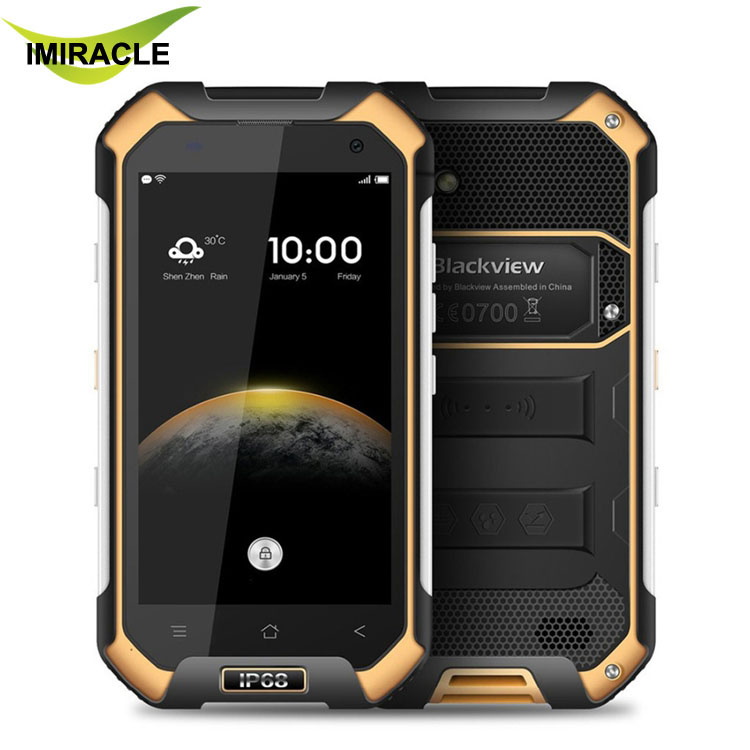 Blackview BV6000s 4.7inch 4G Smartphone Quad Core Android 6.0 2GB RAM 16GB ROM IP68 Waterproof Mobile Phone