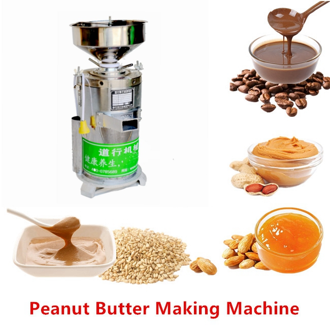 2019 New Arrival Mini Automatic Stainless Steel Peanut Butter Making Machine