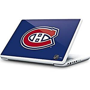 NHL Montreal Canadiens MacBook 13-inch Skin - Montreal Canadiens Solid Background Vinyl Decal Skin For Your MacBook 13-inch