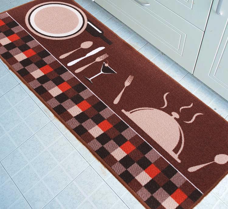 50cm*80cm Kitchen Modern Carpet Non-slip Decorative