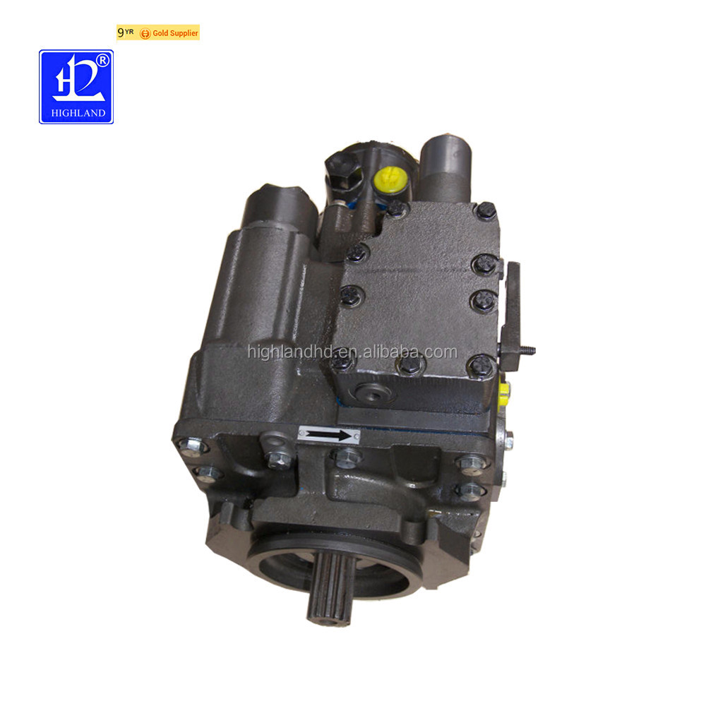 Highland construction Machinery main Hydraulic piston pump electric motor with hydraulic pump from China factory supplier
