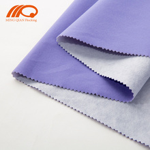 Colorful long velvet spunlace flocking fabric for gift box