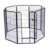 Black large Heavy Duty large pet playpen