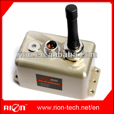 For Drilling/rail monitor/vehicle posture detection Wireless Leveling Sensors with Air Plug