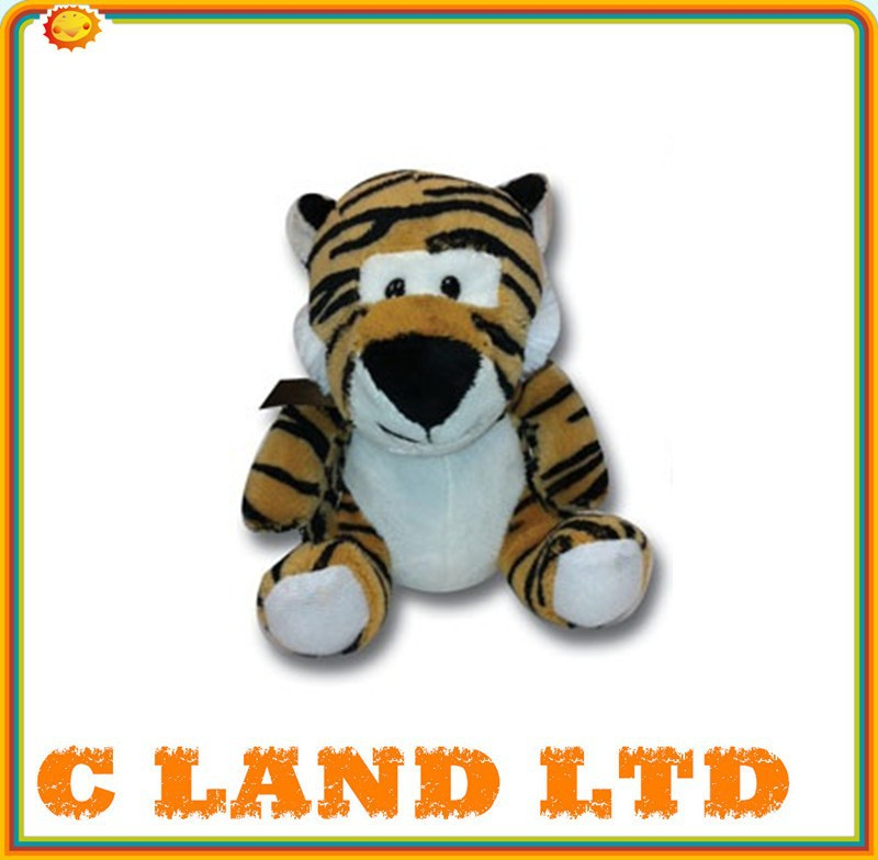 Novelty Animal Baby Toy Stuffed Baby Tiger