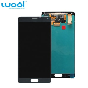 Replacement lcd screen with digitizer display spare parts for Samsung Galaxy Note 4