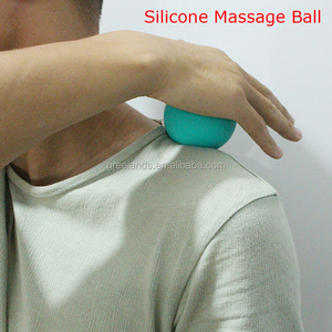 Fitness Yoga Physical Therapy Stress Balls with Custom Logo , Silicone Lacrosse Massage Ball , Acupressure Self Massage Ball