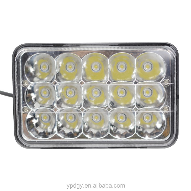 Factory sell directly !!! 45W led truck light 4x6 headlight 4x6 led headlight