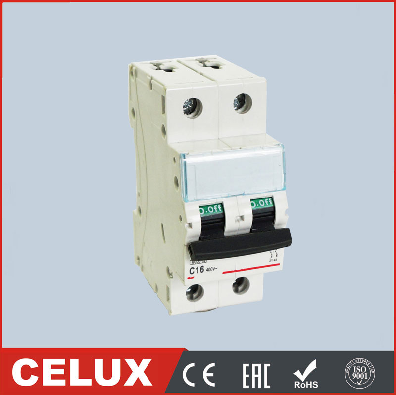 DX-63 new 2P 63 amp dc mcb from 1 amp 6KA mini circuit breaker