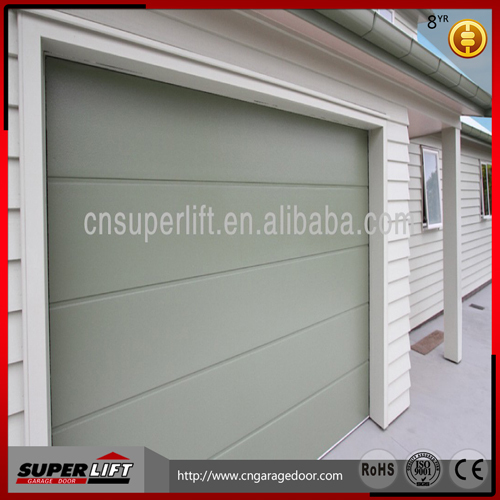 PPGI Skin Garage Door Sandwich Panel,sectional Single Panel Garage Door  High Quality
