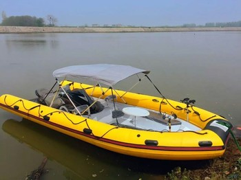 Sanj 8 persons 4 stroke jet ski fishing boat buy sanj for Jet fishing boats for sale