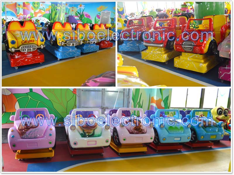 GM5584 wholesale ride on battery operated kids baby car with various music in game center