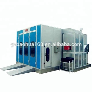 Car spray booth/Automotive paint both / car baking oven/diesel paint booth BH-8100