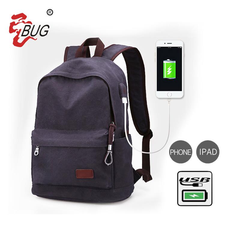 Wholesale Best Selling Top Design Male Lockable Waterproof Portable Business Rucksack Laptop Bags Usb Backpack