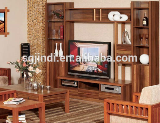 Steel Tv Stand Designs : Modern wood tv stand showcase design buy wooden