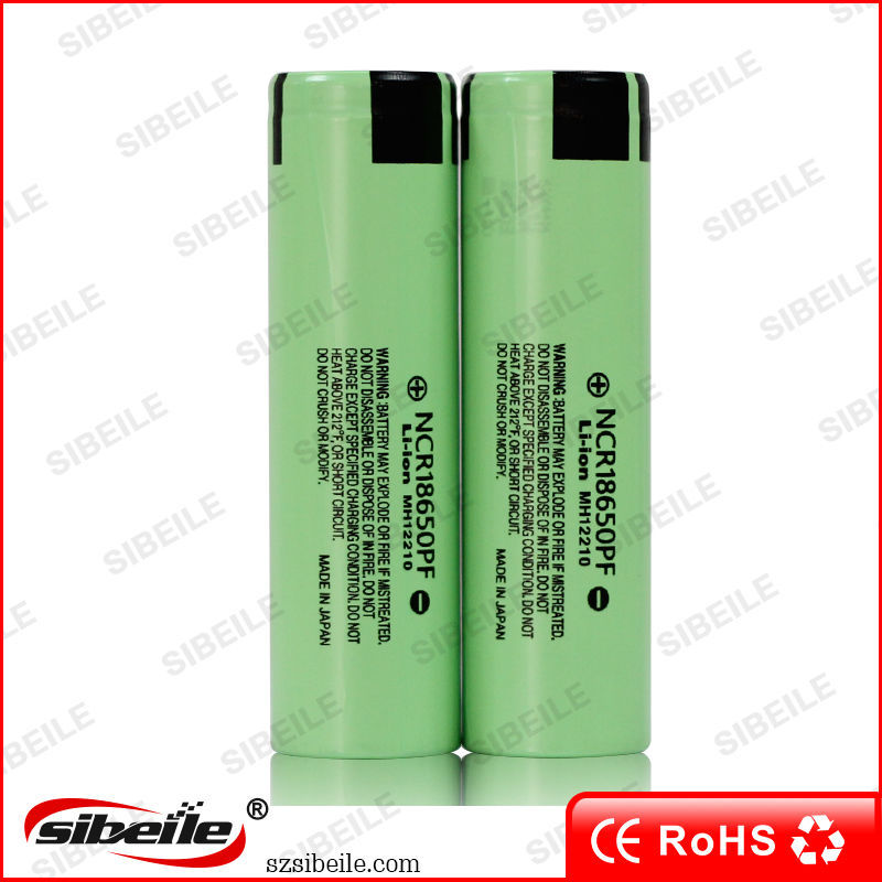 2900mah 18650 battery li ion rechargeable battery NCR 18650pf 3.7V 18650 batery NCR 18650PF lithium battery