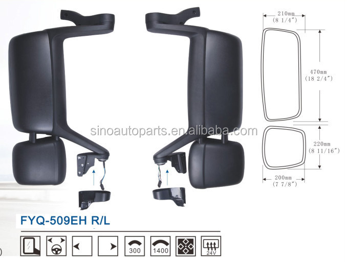 20535602 20535603 FOR VOLVO TRUCK MIRROR