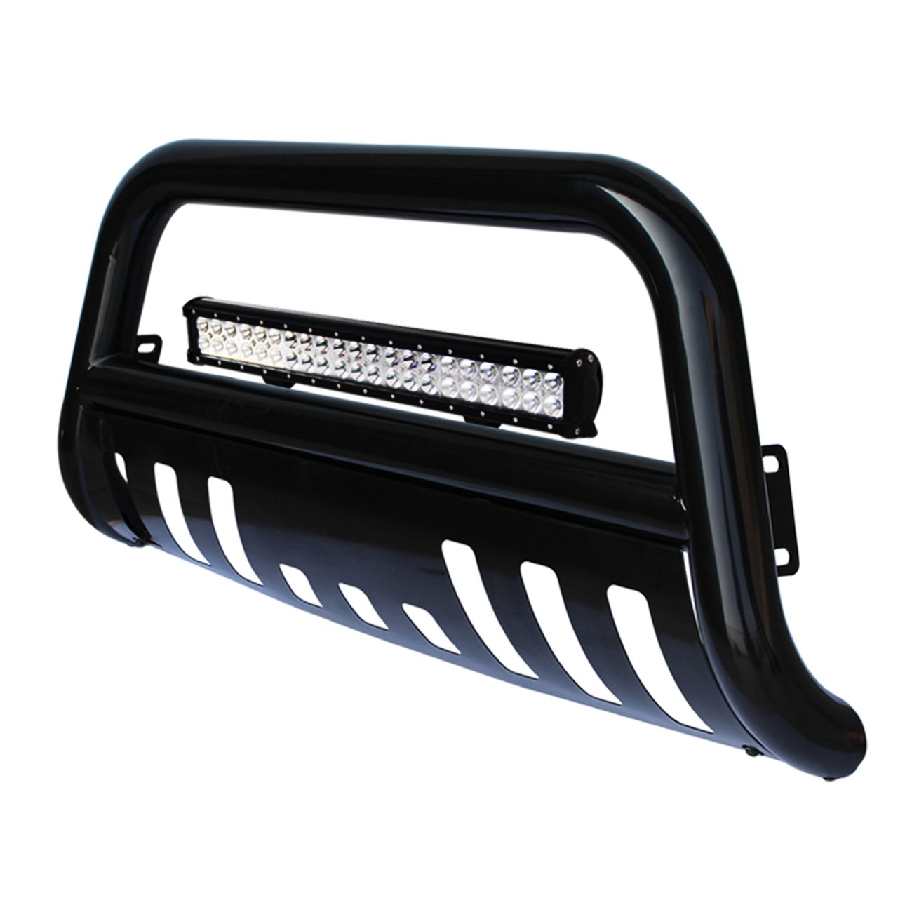 Cheap Led Light Bar Dodge Ram Find Deals On Wiring Guide P U Get Quotations Tuokiy Black Bull Bumper Grille Guard For 03 05 1500 06