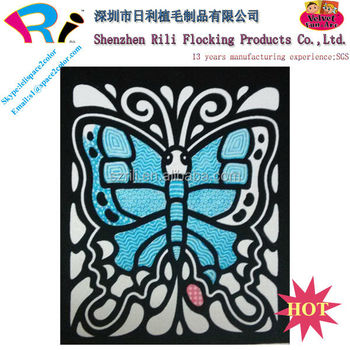 kids handwork paper crafts velvet posters to color - Posters To Color