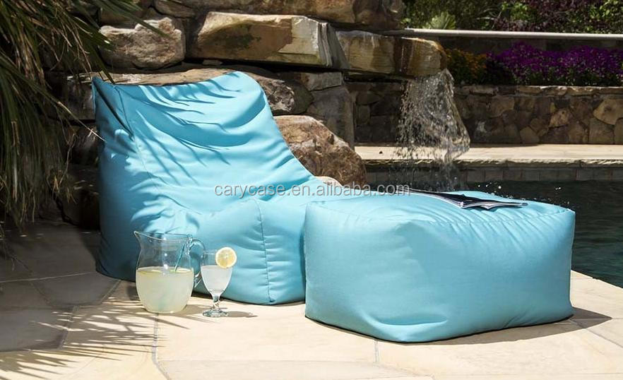 Amazing Outdoor Waterproof Portable Beanbag Chair Big L Bean Bag Pool Side Bean Seat With Ottoman Buy Double Seat Beanbag Chair Metal Folding Chair Caraccident5 Cool Chair Designs And Ideas Caraccident5Info