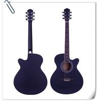 2017 musical instrument china cheap guitar 40 inch acousitic classical guitar EA10-BK