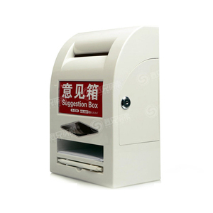 Apartment Type Secure Apartment Building Mailbox Plastic Letter Post Box For House