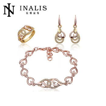 2014 Wholesale Cheap Dubai Gold Jewelry Set Wedding Jewellery