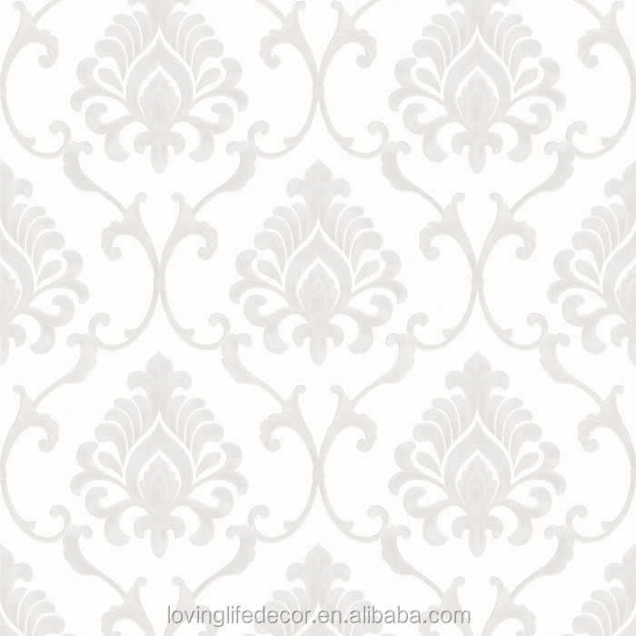New Arrival Dhaka Decorative Plastic Wallpaper And Damask