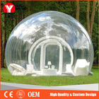 2016 HOT Gonflable Bulle Camping Tente, gonflable Transparent/Clair Tente