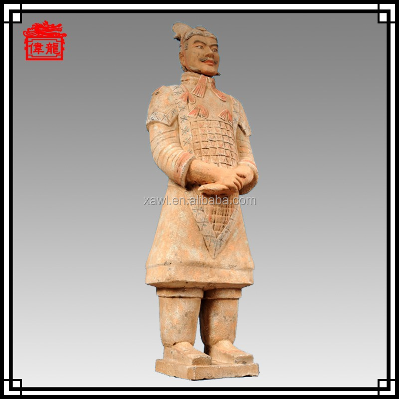 Color Brilliancy 170CM Terracotta Warriors Soldier Souvenir YGF170-1